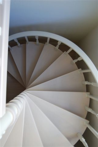White Wash Maple Stairs